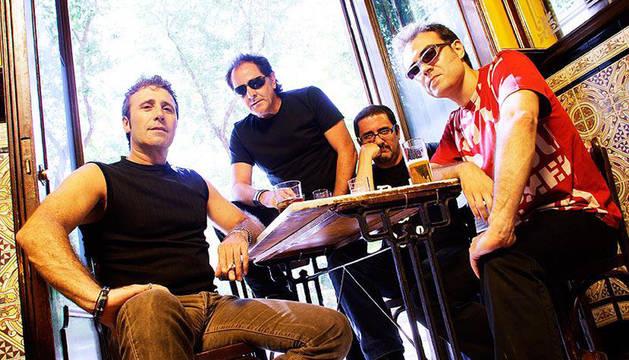 Burning, uno de los grupos que actuarán en Rocktiembre.