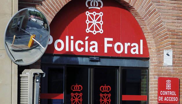 Sede de la Policía Foral.