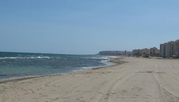 Playa del Saladar en Alicante, lugar donde se ha producido el accidente.