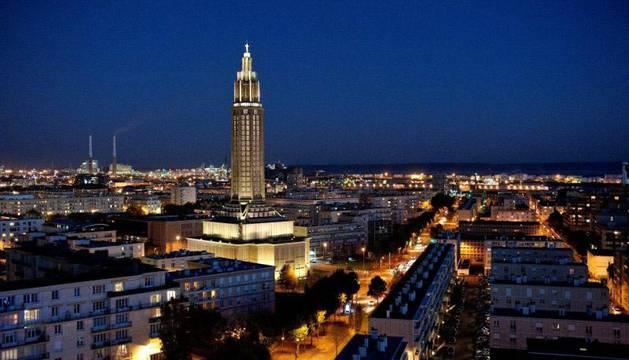Imagen de la ciudad frances de Le Havre .