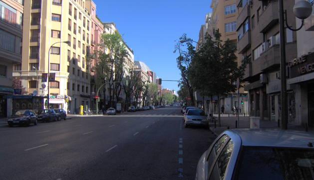 El suceso ocurrió en la calle Bravo Murillo de Madrid.