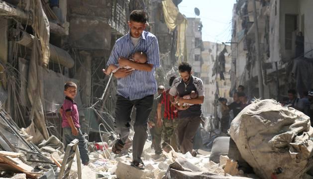 Calma relativa en Siria tras el comienzo del alto el fuego