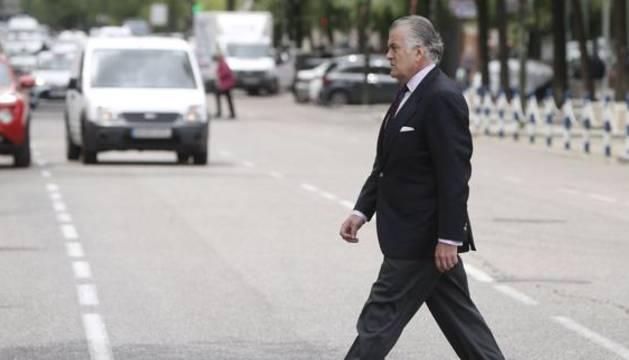 l extesorero del PP Luis Bárcenas.