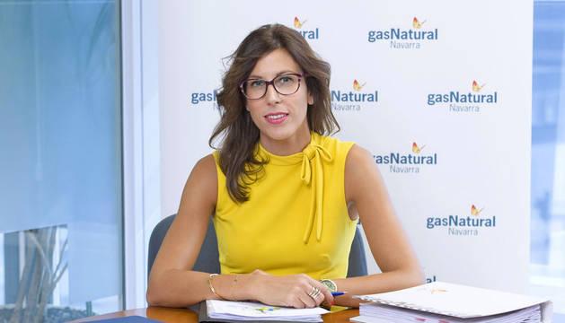 María Miró, directora de Gas Navarra