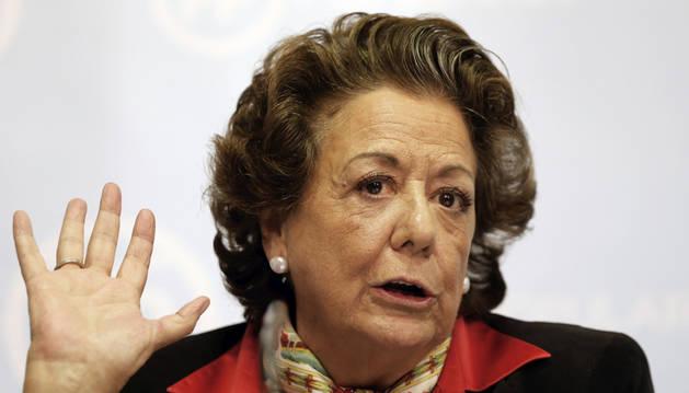 La ex alcaldesa de Valencia y senadora del PP Rita Barberá.