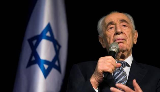 El exmandatario israelí Shimon Peres.