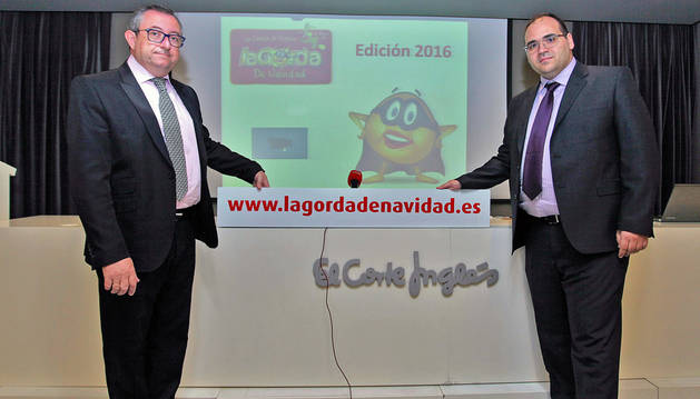 Por la izda: Jesús Berisa Berisa (gerente del Complejo Castejón) y Nacho Arregui Cantone (responsable comercial del Complejo Castejón).