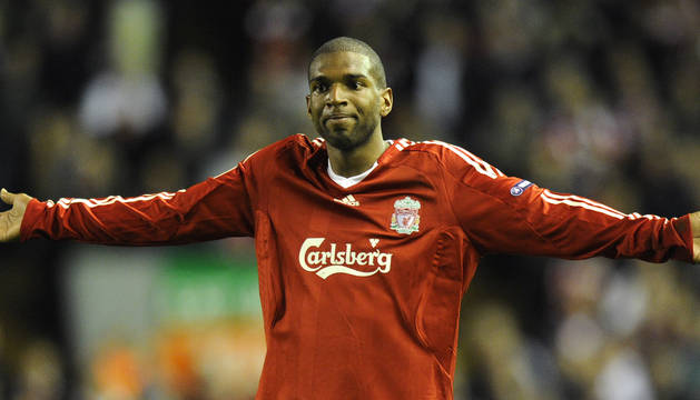Ryan Babel, en su etapa en el Liverpool.