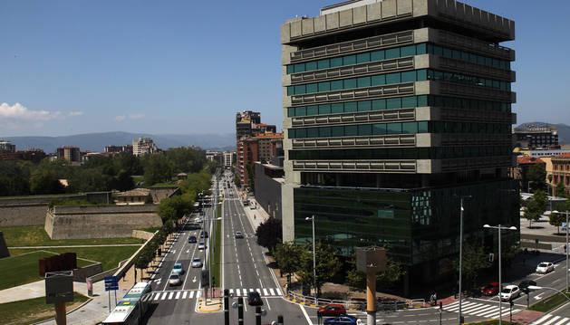 La avenida del Ejército forma parte del 'corredor sostenible' previsto entre Burlada y Barañáin.