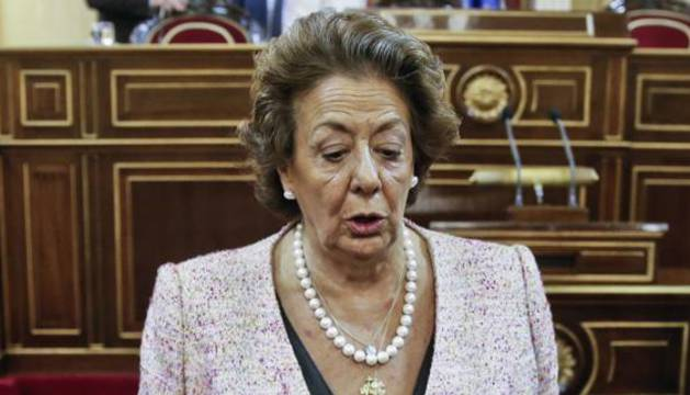 La exalcaldesa de Valencia Rita Barberá.