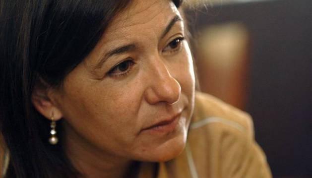 La periodista Angela Rodicio.