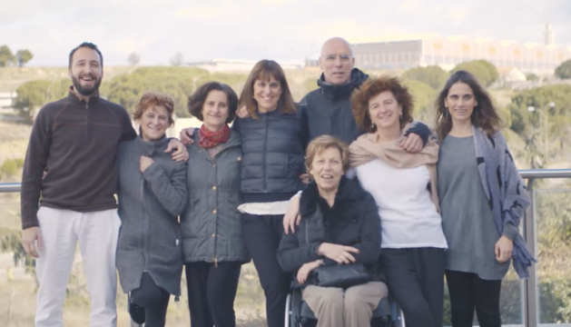 Equipo de Psiquiatras y Psicólogos que han desarrollado la 'app' 'REM Volver a casa'.