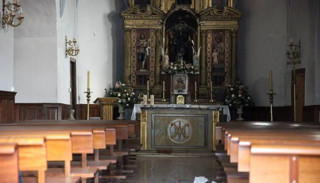 El ciudadano de origen marroquí fue arrestado la semana pasada por el incendio provocado en la iglesia de Fontellas.