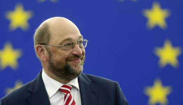 Martin Schulz, presidente del Parlamento Europeo.