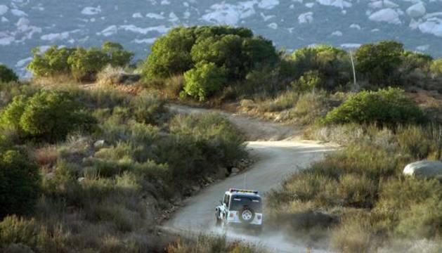 Carretera en el Estado de Tamaulipas, México.