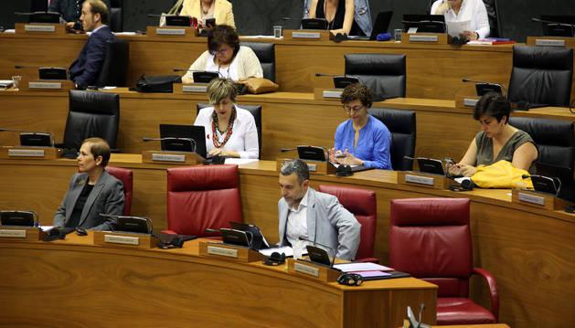 Un pleno anterior del Parlamento.