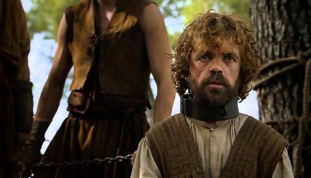 El personaje Tyrion Lannister en 'Juego de Tronos'.