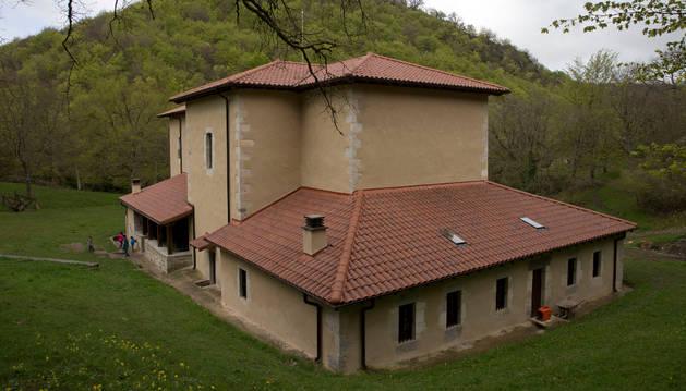 Ermita de San Urbano, en Gaskue.