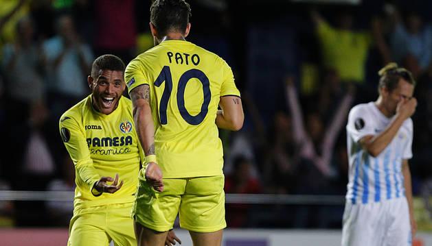 Pato y Dos Santos dieron la vuelta al tanto inicial de los suizos (2-1)