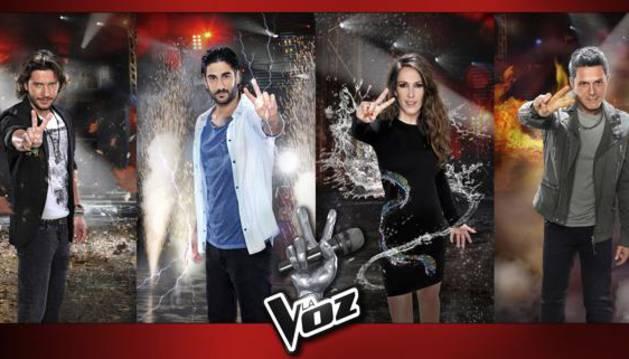 Los 'coaches' de la cuarta edición de 'La Voz'.