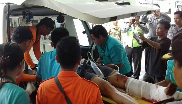 La Policía indonesia confirma la muerte de una española en un naufragio Bali