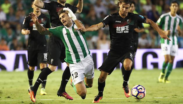 Betis y Granada se reparten los puntos en un partido tenso (2-2)