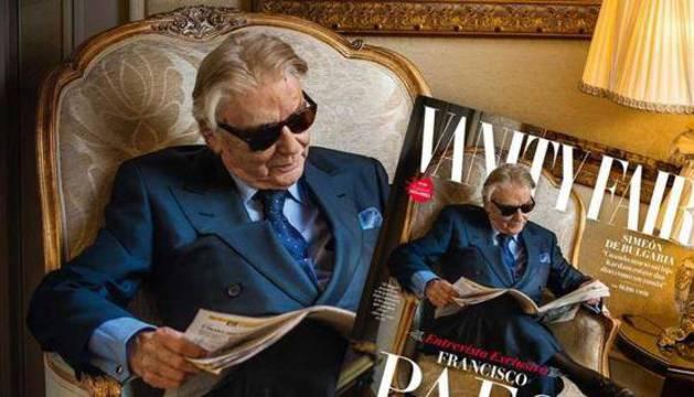 Francisco Paesa posa para Vanity Fair.