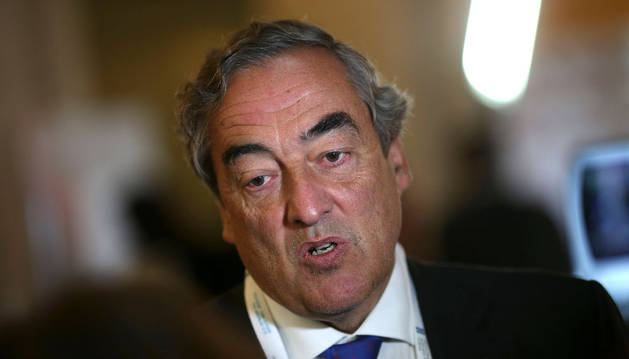 El presidente de la Confederación Española de Organizaciones Empresariales (CEOE), Juan Rosell.