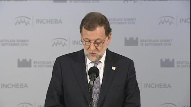 """Rajoy: """"Ya no tengo ninguna autoridad con respecto a Rita Barberá"""""""