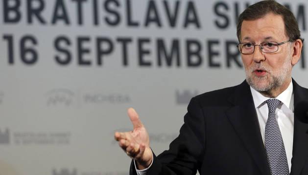 Rajoy dice que ya no tiene