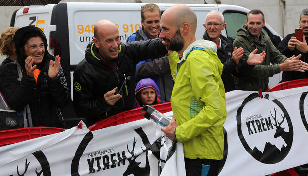El corredor de Hernani Unai Santamaría se impuso en la prueba de 67 km.