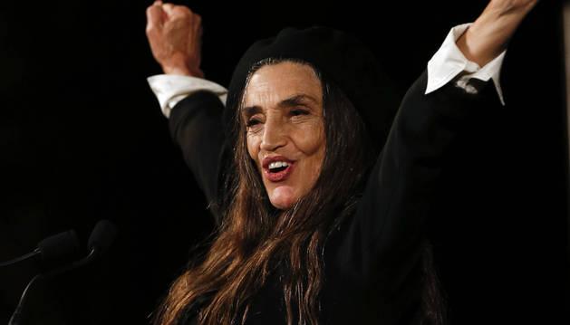 La actriz Ángela Molina ha recibido el Premio Nacional de Cinematografía.