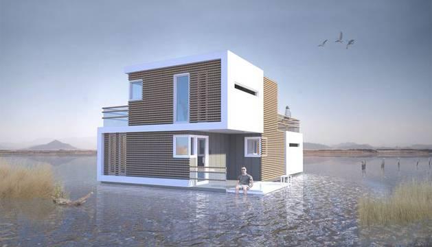 El nuevo concepto de casa del estudio holandés OBA, 'Prenunptial Housing'.