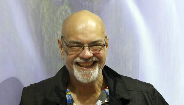 El estadounidense George Pérez, considerado como uno de los grandes de la industria del cómic.