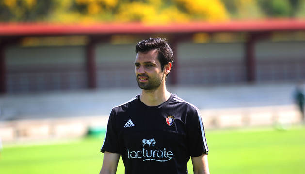 Miguel Flaño, en Tajonar.
