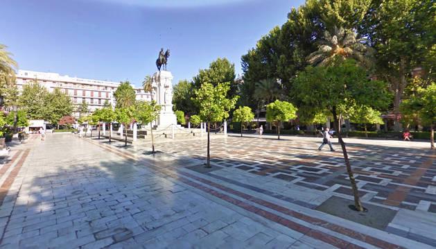 Plaza Nueva de Sevilla.