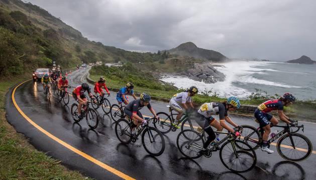 Prueba de ciclismo en carretera de la categoría C4-C5 de los Juegos Paralímpicos de Río de Janeiro 2016.