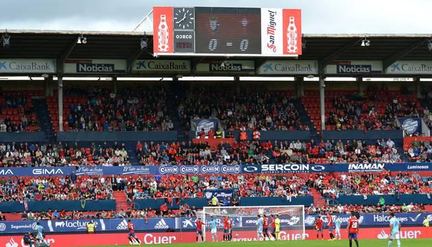 Osasuna ha adaptado el estadio a las exigencias de la Liga