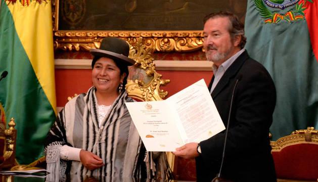 Benítez, en Bolivia
