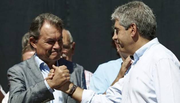 Artur Mas y Francesc Homs.