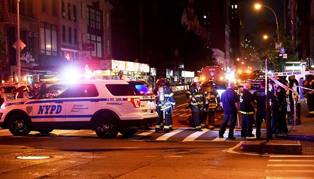 Al menos 29 heridos en una explosión en Nueva York