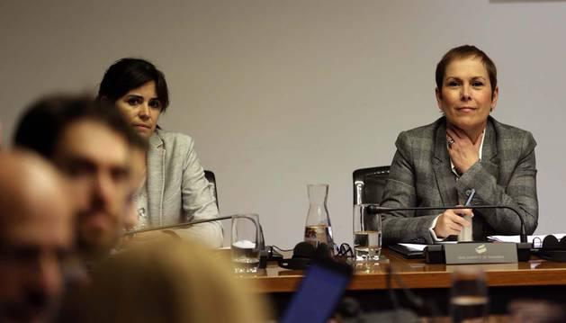 Barkos acusa en el Parlamento a UPN y PP de