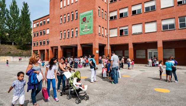 Imagen del Colegio Público de Azpilagaña.