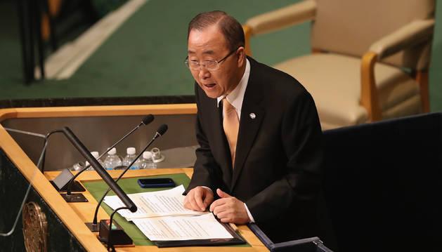 Ban Ki-moon se despide de los líderes mundiales con su discurso más duro