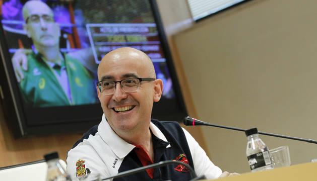 Jordi Ribera, en su presentación.