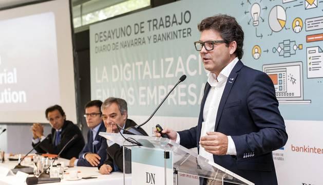 Desayunos Diario de Navarra - Bankinter