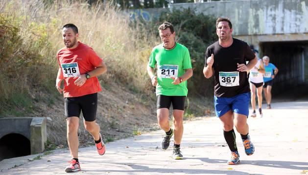 Imagen de la XXII edición de la carrera, celebrada el año pasado, que finalizó en Tudela