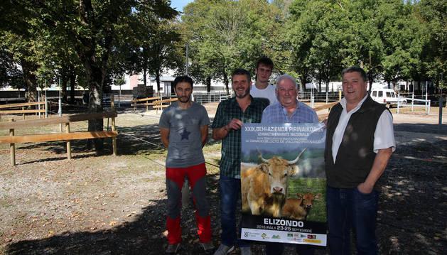 Jokin Ramírez, Juan Cruz Iriarte, Álvaro Garde, Fermín Barazabal y Patxi Aranguren.