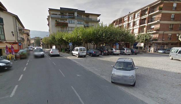 Calle Nagusta, via donde se instalará el nuevo velatorio.