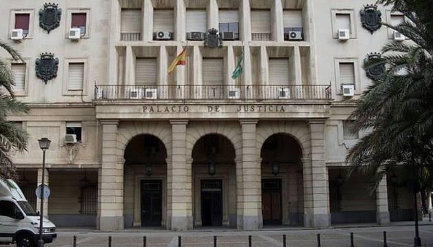 Palacio de Justicia de Sevilla.
